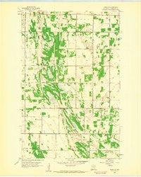 Viking SE Minnesota Historical topographic map, 1:24000 scale, 7.5 X 7.5 Minute, Year 1959