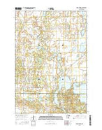 Ward Springs Minnesota Current topographic map, 1:24000 scale, 7.5 X 7.5 Minute, Year 2016 from Minnesota Map Store