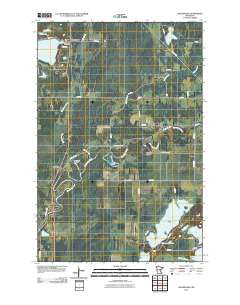 Waukenabo Minnesota Historical topographic map, 1:24000 scale, 7.5 X 7.5 Minute, Year 2010