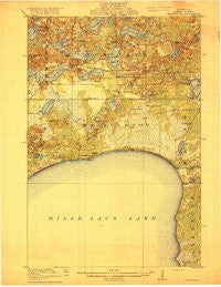 Wealthwood Minnesota Historical topographic map, 1:62500 scale, 15 X 15 Minute, Year 1916
