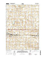 Welcome Minnesota Current topographic map, 1:24000 scale, 7.5 X 7.5 Minute, Year 2016 from Minnesota Map Store