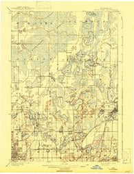 White Bear Minnesota Historical topographic map, 1:62500 scale, 15 X 15 Minute, Year 1902
