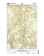 White Fish Lake Minnesota Current topographic map, 1:24000 scale, 7.5 X 7.5 Minute, Year 2016 from Minnesota Map Store