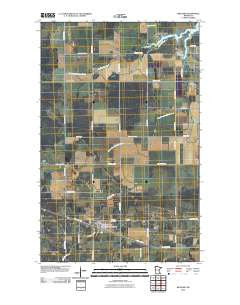 Williams Minnesota Historical topographic map, 1:24000 scale, 7.5 X 7.5 Minute, Year 2010