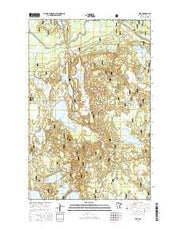 Wirt Minnesota Current topographic map, 1:24000 scale, 7.5 X 7.5 Minute, Year 2016 from Minnesota Maps Store