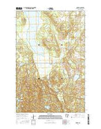 Zerkel Minnesota Current topographic map, 1:24000 scale, 7.5 X 7.5 Minute, Year 2016 from Minnesota Map Store