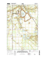 Zim Minnesota Current topographic map, 1:24000 scale, 7.5 X 7.5 Minute, Year 2016 from Minnesota Map Store