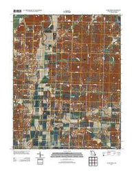 Acorn Ridge Missouri Historical topographic map, 1:24000 scale, 7.5 X 7.5 Minute, Year 2012