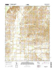 Acorn Ridge Missouri Current topographic map, 1:24000 scale, 7.5 X 7.5 Minute, Year 2015