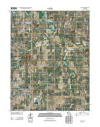 Adrian Missouri Historical topographic map, 1:24000 scale, 7.5 X 7.5 Minute, Year 2011