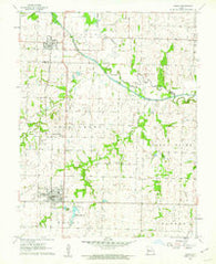 Adrian Missouri Historical topographic map, 1:24000 scale, 7.5 X 7.5 Minute, Year 1961