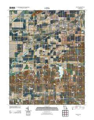Advance Missouri Historical topographic map, 1:24000 scale, 7.5 X 7.5 Minute, Year 2012