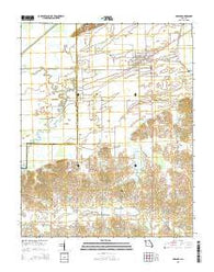 Advance Missouri Current topographic map, 1:24000 scale, 7.5 X 7.5 Minute, Year 2015
