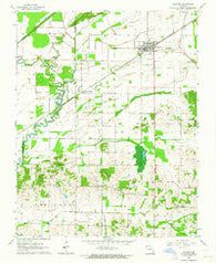 Advance Missouri Historical topographic map, 1:24000 scale, 7.5 X 7.5 Minute, Year 1963