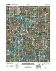 Agency Missouri Historical topographic map, 1:24000 scale, 7.5 X 7.5 Minute, Year 2012