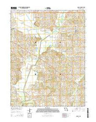 Agency Missouri Current topographic map, 1:24000 scale, 7.5 X 7.5 Minute, Year 2014