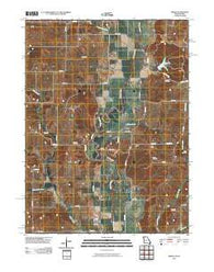 Akron Missouri Historical topographic map, 1:24000 scale, 7.5 X 7.5 Minute, Year 2010