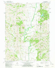 Akron Missouri Historical topographic map, 1:24000 scale, 7.5 X 7.5 Minute, Year 1981