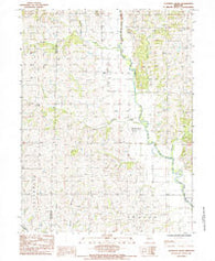 Alanthus Grove Missouri Historical topographic map, 1:24000 scale, 7.5 X 7.5 Minute, Year 1985