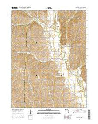 Alanthus Grove Missouri Current topographic map, 1:24000 scale, 7.5 X 7.5 Minute, Year 2014