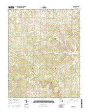 Alton Missouri Current topographic map, 1:24000 scale, 7.5 X 7.5 Minute, Year 2015 from Missouri Maps Store