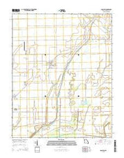 Anniston Missouri Current topographic map, 1:24000 scale, 7.5 X 7.5 Minute, Year 2015 from Missouri Maps Store