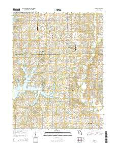 Arley Missouri Current topographic map, 1:24000 scale, 7.5 X 7.5 Minute, Year 2015