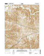 Armstrong Missouri Current topographic map, 1:24000 scale, 7.5 X 7.5 Minute, Year 2014 from Missouri Map Store