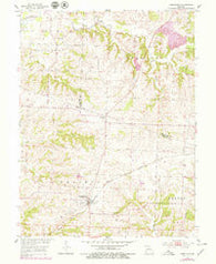 Armstrong Missouri Historical topographic map, 1:24000 scale, 7.5 X 7.5 Minute, Year 1953