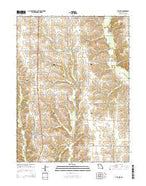 Atlanta Missouri Current topographic map, 1:24000 scale, 7.5 X 7.5 Minute, Year 2014 from Missouri Map Store