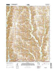 Axtell Missouri Current topographic map, 1:24000 scale, 7.5 X 7.5 Minute, Year 2014 from Missouri Maps Store
