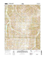 Bahner Missouri Current topographic map, 1:24000 scale, 7.5 X 7.5 Minute, Year 2014 from Missouri Maps Store