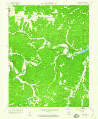 Barnumton Missouri Historical topographic map, 1:24000 scale, 7.5 X 7.5 Minute, Year 1959