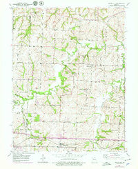 Bates City Missouri Historical topographic map, 1:24000 scale, 7.5 X 7.5 Minute, Year 1950