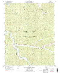 Berryman Missouri Historical topographic map, 1:24000 scale, 7.5 X 7.5 Minute, Year 1978