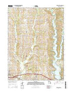 Bevier North Missouri Current topographic map, 1:24000 scale, 7.5 X 7.5 Minute, Year 2014 from Missouri Map Store