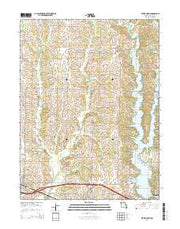Bevier North Missouri Current topographic map, 1:24000 scale, 7.5 X 7.5 Minute, Year 2014 from Missouri Maps Store