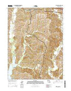 Bevier South Missouri Current topographic map, 1:24000 scale, 7.5 X 7.5 Minute, Year 2014 from Missouri Map Store