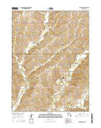Blockton SE Missouri Current topographic map, 1:24000 scale, 7.5 X 7.5 Minute, Year 2014 from Missouri Map Store