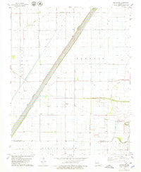 Boekerton Missouri Historical topographic map, 1:24000 scale, 7.5 X 7.5 Minute, Year 1978