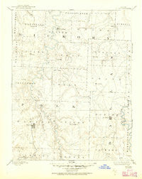 Bolivar Missouri Historical topographic map, 1:125000 scale, 30 X 30 Minute, Year 1892