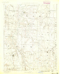 Bolivar Missouri Historical topographic map, 1:125000 scale, 30 X 30 Minute, Year 1884