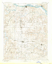 Boonville Missouri Historical topographic map, 1:125000 scale, 30 X 30 Minute, Year 1888