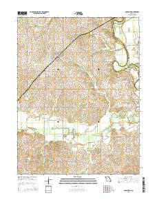 Bosworth Missouri Current topographic map, 1:24000 scale, 7.5 X 7.5 Minute, Year 2015