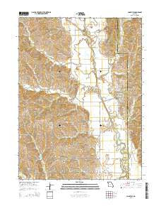 Cainsville Missouri Current topographic map, 1:24000 scale, 7.5 X 7.5 Minute, Year 2015