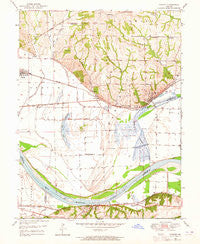 Camden Missouri Historical topographic map, 1:24000 scale, 7.5 X 7.5 Minute, Year 1950