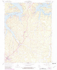 Camdenton Missouri Historical topographic map, 1:24000 scale, 7.5 X 7.5 Minute, Year 1959
