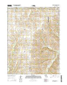 Cameron West Missouri Current topographic map, 1:24000 scale, 7.5 X 7.5 Minute, Year 2015