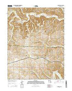 Clarksburg Missouri Current topographic map, 1:24000 scale, 7.5 X 7.5 Minute, Year 2015 from Missouri Map Store