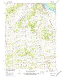Clarksville Missouri Historical topographic map, 1:24000 scale, 7.5 X 7.5 Minute, Year 1978